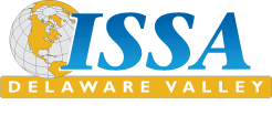 Logo for ISSA Delaware Valley chapter